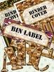 Camo Alphabet 2 •  6 Binder Covers • 6 Bin Labels • 18 Patterns • Full Alphabet