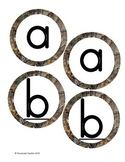 Camo Boggle Letters