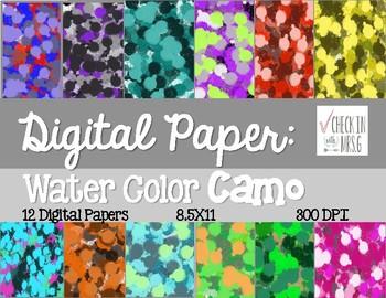 Camo Digital Paper