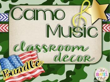Camo Music Decor - Bundle