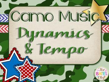 Camo Music Decor - Dynamics & Tempo