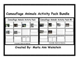 Camouflage Animals Activity Pack Bundle