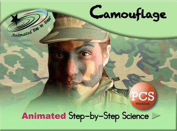 Camouflage - Animated Step-by-Step Science Resource - PCS