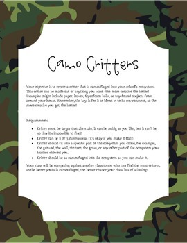 Camouflage Critters