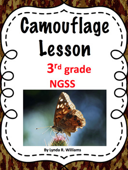 Camouflage Lesson NGSS 3-LS4-2