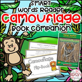 Camouflage Smart Words Reader Student Flip Book