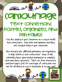 Camouflage Text Connections Posters, Printables, Organizers, and More!