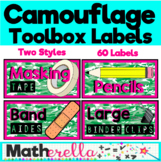 Camouflage Toolbox Labels!