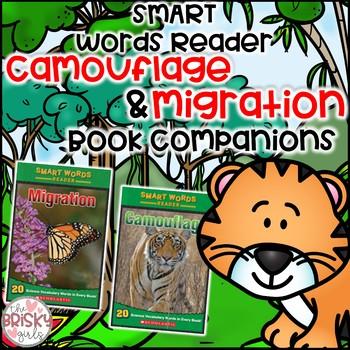 Camouflage and Migration Smart Words Reader Student Flip Books BUNDLE