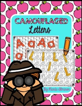 Camouflaged Letters