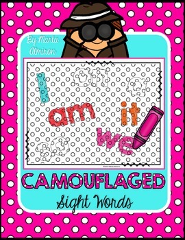 Camouflaged Sight Words Vol. 1