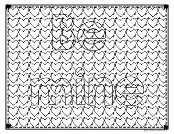 Camouflaged Valentine Messages {My Monthly FREEBIE}