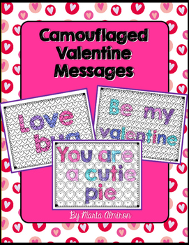 Camouflaged Valentine Messages {FREEBIE}