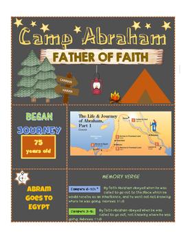 Camp Abraham Curriculum Lesson 2