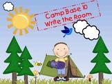 Camp BASE 10 WRITE THE ROOM!