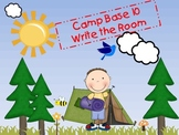 Camp BASE 10 WRITE THE ROOM!