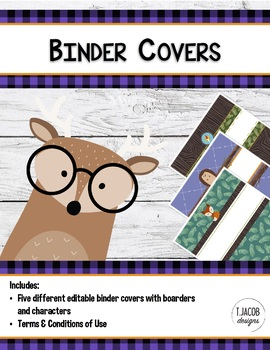 Camp Binder Covers