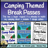 Camp Calm Counseling Take a Break Passes