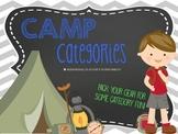 Camp Categories