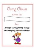 Camp Certificates