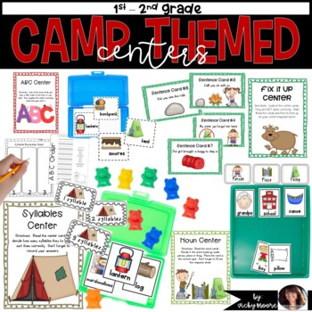 Camp themed centers