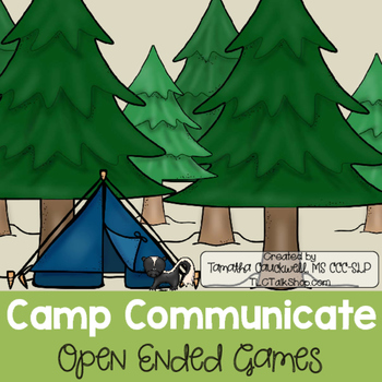 Camp Communicate: Open-Ended Games