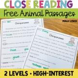 Close Reading {FREEBIE}