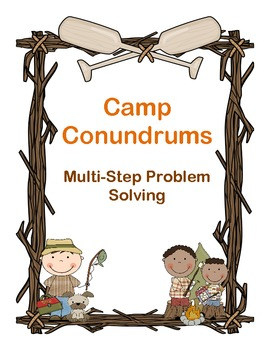 Camp Conundrums Multi-Step Problem Solving
