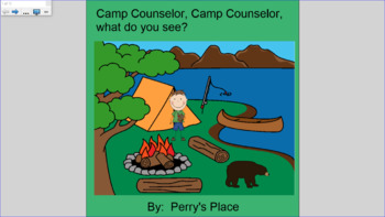 "Camping Bundle: ""Camp Counselor, Camp Counselor What Do You See?"""