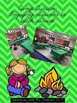 Camp Cursive: Engaging Resources to Teach Cursive