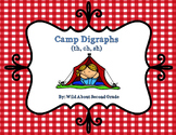 Camp Digraphs! (sh, th, ch), Games/Worksheet