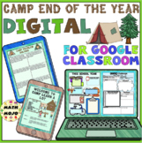 End of The Year Camp Distance Learning for Google Classroom