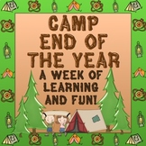 End of the Year Camp A Week of Learning Fun!