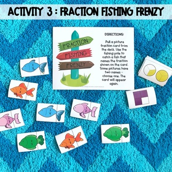 Camp Fraction - Hands-On, Interactive Activities for Fraction Review