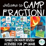 2nd Grade Fraction Activities - Hands On Fraction Review Games