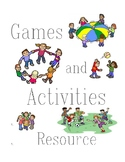 Camp Games and Activities Resource