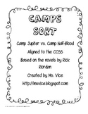 Camp Jupiter vs. Camp Half-Blood Sort