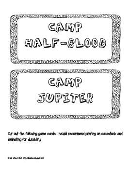 Camp Jupiter vs. Camp Half-Blood Sort