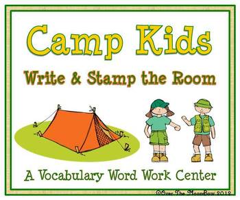 Camp Kids Write / Stamp the Room Activity Pack