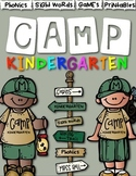 Camp Kindergarten: Literacy Centers and Activities for Kindergarten