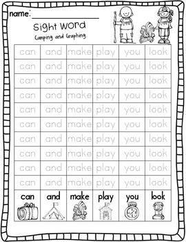 Camp Kindergarten: Literacy Centers and Activities for Kindergarten