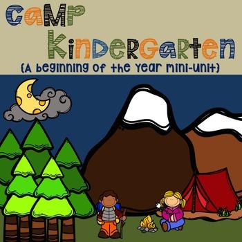 Camp Kindergarten Mini Unit