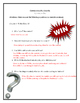 Camp Knock Knock Comprehension Packet