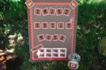 Classroom Decor Camp Learn-A-Lot Banner and Letters