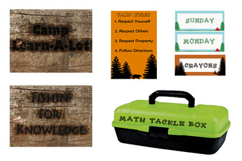 Camp Learn-A-Lot Classroom Theme