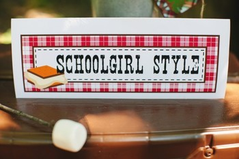 Classroom Decor Camp Learn-A-Lot Nameplates
