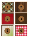 Classroom Decor Camp Learn-A-Lot Student Number Tags