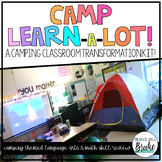 Camp Learn-a-Lot Classroom Transformation! Reading + Math Activities