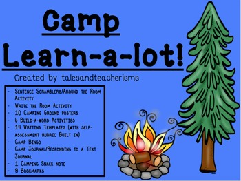 Camp Learn-a-Lot (Reading and Writing Focus)
