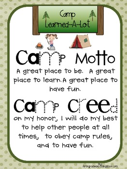 Camp Learned A-Lot Unit